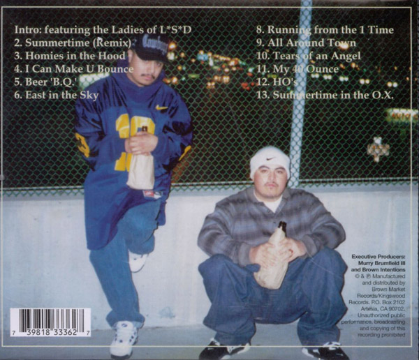 Brown Intentions - My 40 Ounce Chicano Rap